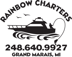 Rainbow Charters Grand Marais Michigan Logo